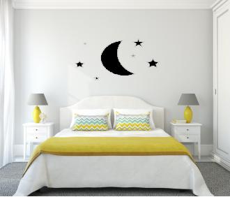 Měsíček a hvězdičky
