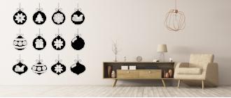 Vánoční baňky- sada