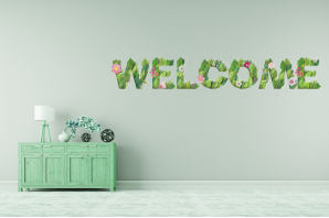 Welcome flowers