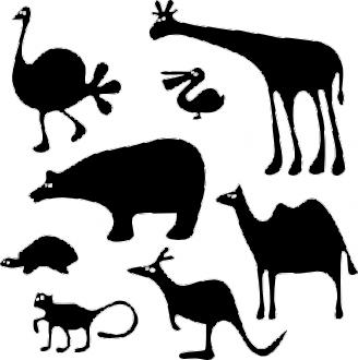 Animovaná zvířátka
