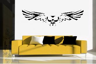 Samolepka na zeď - sova