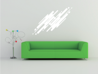 Samolepka na zeď Abstract