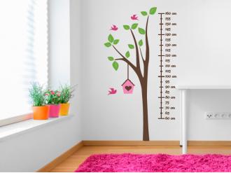 Samolepka na zeď Dětský metr Strom