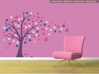Samolepka na zeď Pohádkový strom