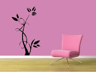 Samolepka na zeď Květinový motiv V
