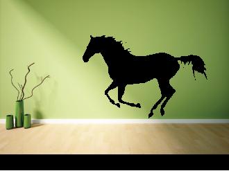 Samolepka na zeď Běžící kůň