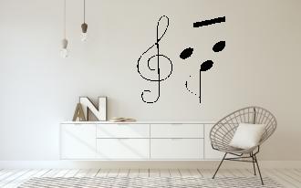 Noty- houslový klíč