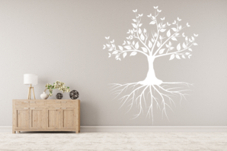Strom s kořenama